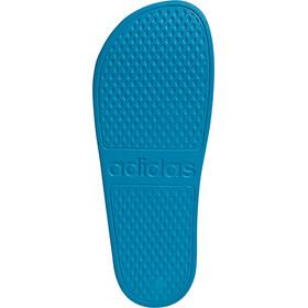 adidas Adilette Aqua Slides Men solar blue/footwear white/solar blue